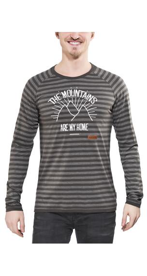 Maloja AdamM. - T-shirt manches longues - gris